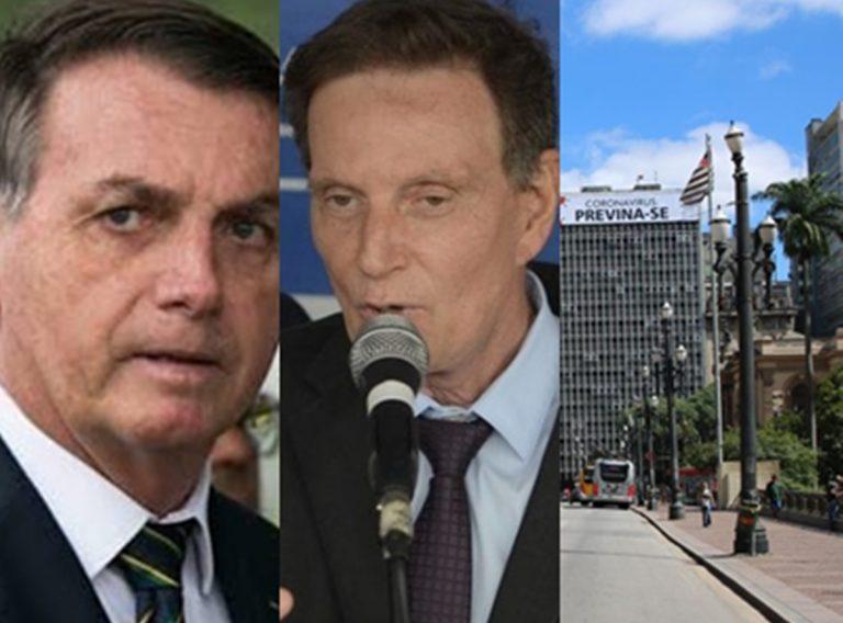 Hoje no Brasil: Oposição pede impeachment de Bolsonaro, Crivella quer acabar com quarentena e Feriado antecipado em São Paulo aumenta índice de isolamento