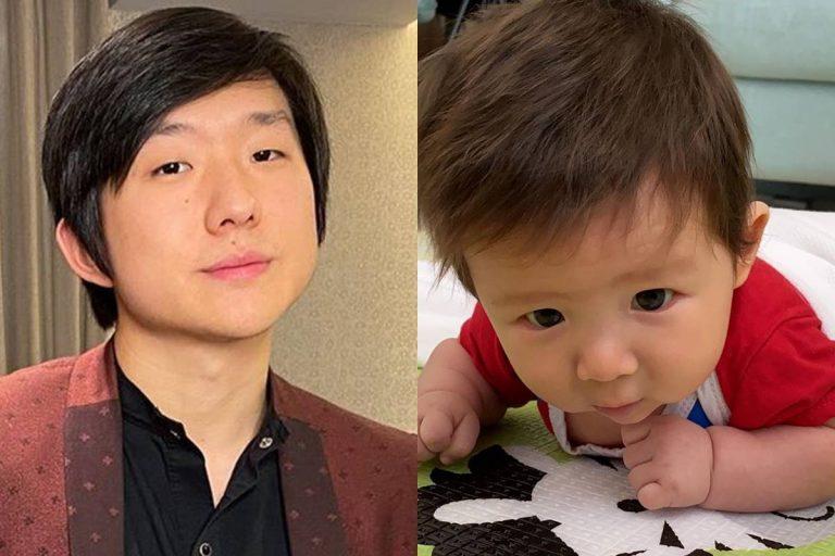 Pyong Lee comemora 100 dias do nascimento do filho
