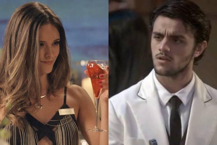Totalmente Demais: Cassandra altera bebida e Jonatas bebe no lugar de Eliza