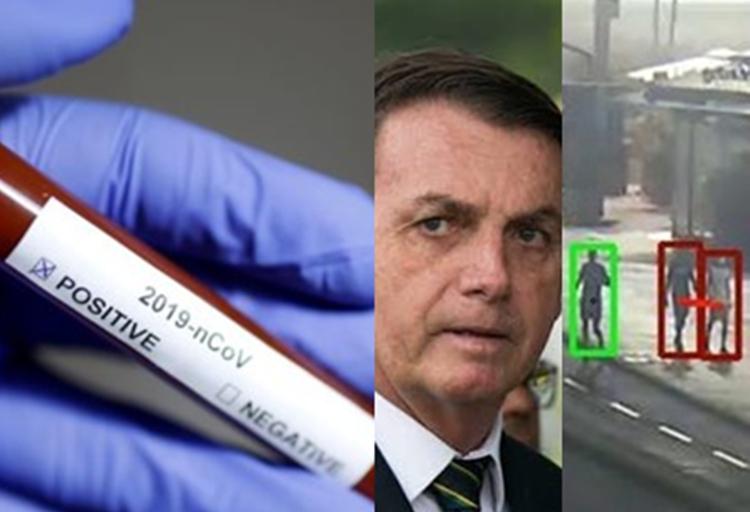 Hoje no Brasil: Recorde de mortes porCovid-19, Bolsonaro reage ante polêmica e Rio contraria o presidente