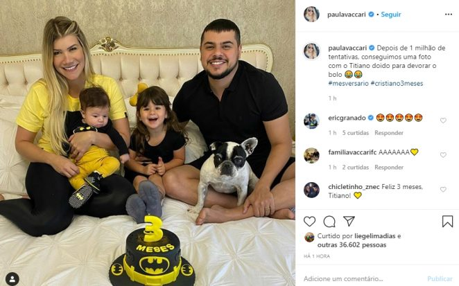 Cristiano e família reprodução Instagram