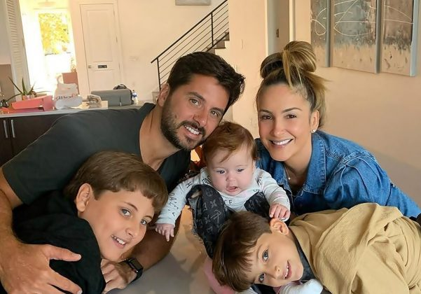 Claudia Leitte grava farra com os filhos - (Foto: Reprodução/Instagram)