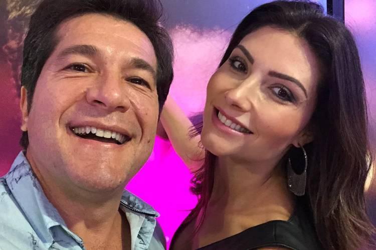 """Sertanejo Daniel celebra 10 anos de casado e se declara: """"Mulher da minha vida"""""""