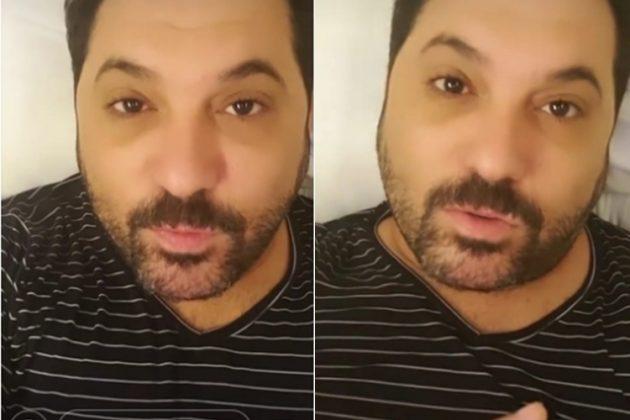 Edson Cadorini reprodução instagram montagem Área Vip