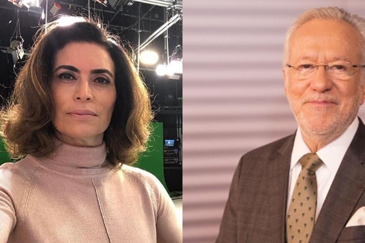 Em desabafo, jornalista Giuliana Morrone não poupou o ex Global Alexandre Garcia
