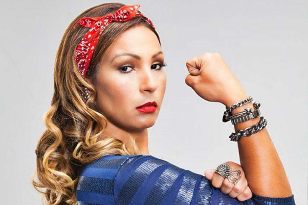 Funkeira Valesca Popozuda oferece ajuda a mulheres - Foto: Divulgação