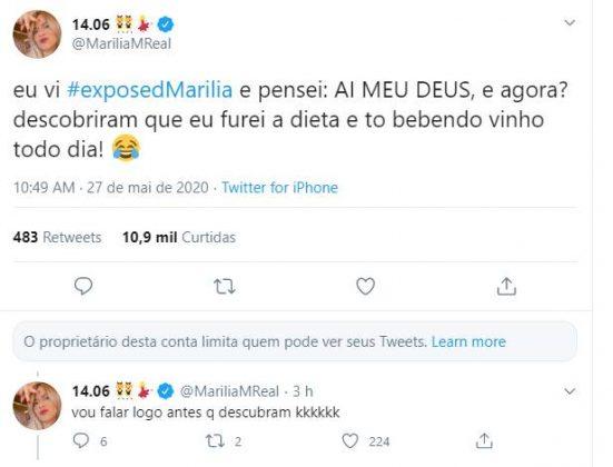 """Marília Mendonça leva susto com situação e diz: """"Descobriram"""""""