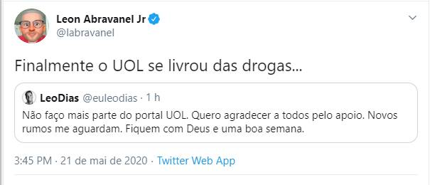 """Leo Dias deixa cargo importante e sobrinho de Silvio Santos alfineta: """"Finalmente"""""""