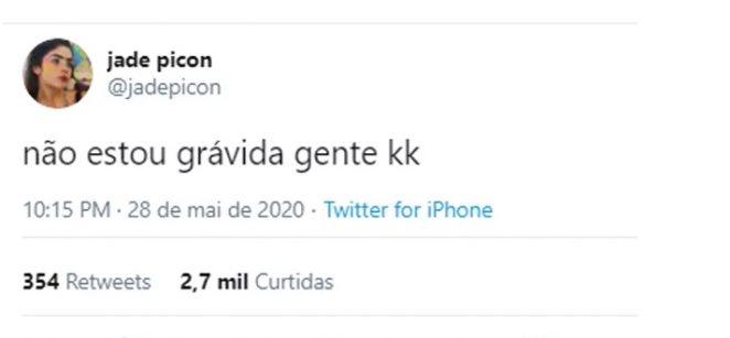 Jade Picon /reprodução Twitter