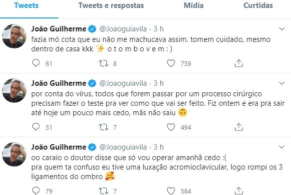 João Guilherme reprodução Twitter 1