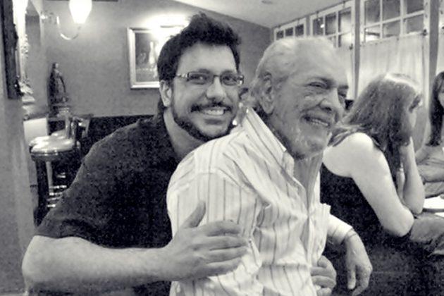 Lucio Mauro Filho lembra um ano da morte do pai (Foto: Reprodução)