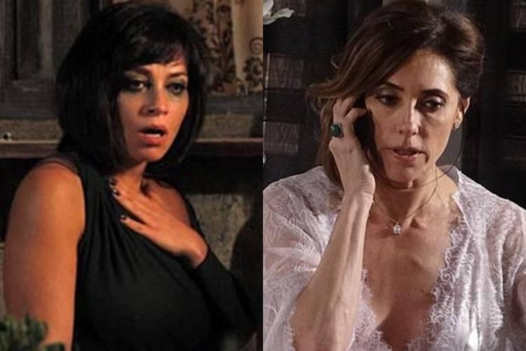 Fina Estampa: Marcela descobre segredo e chantageia Tereza Cristina