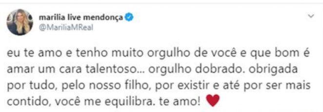 Marilia Mendonça/ Twitter
