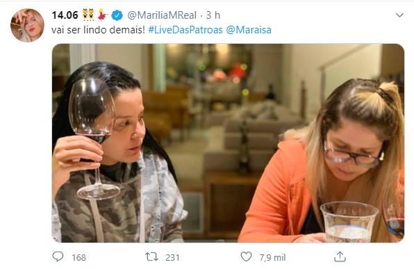 Marília Mendonça surge ao lado de Maraisa e faz revelação