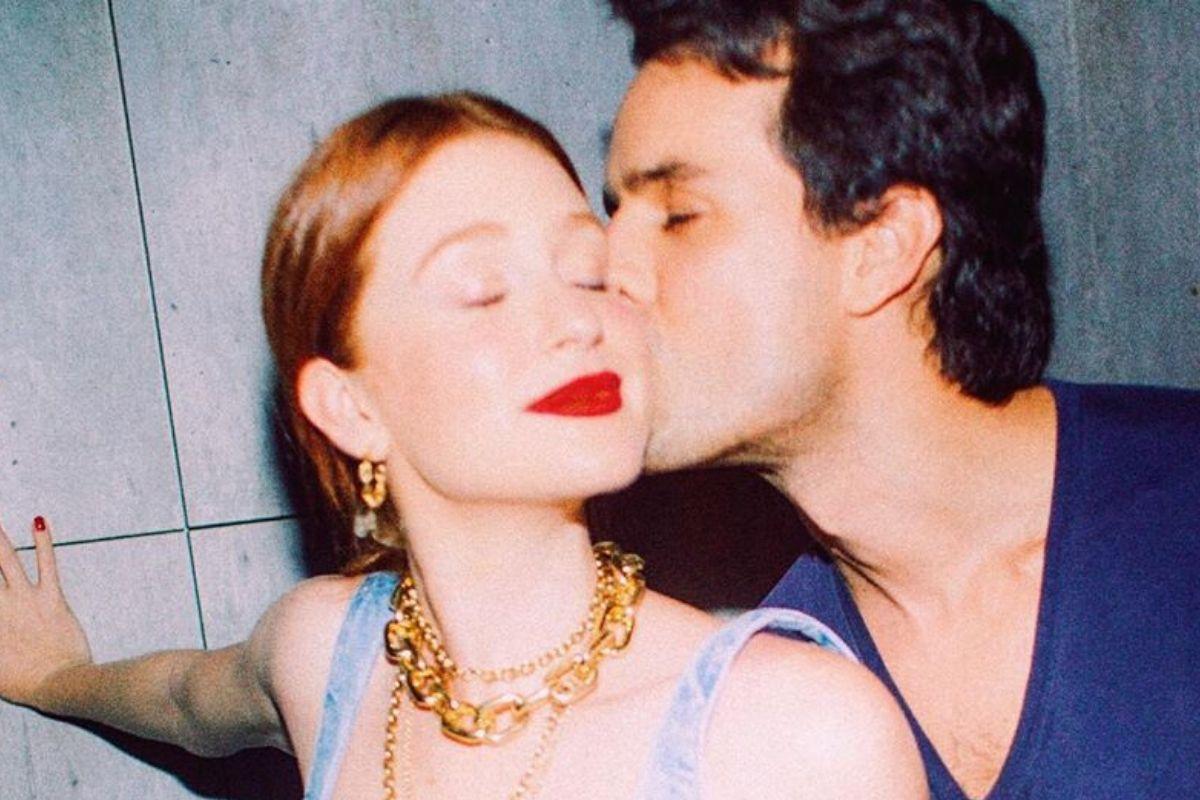 Marina Ruy Barbosa e o seu marido Alexandre Negrão