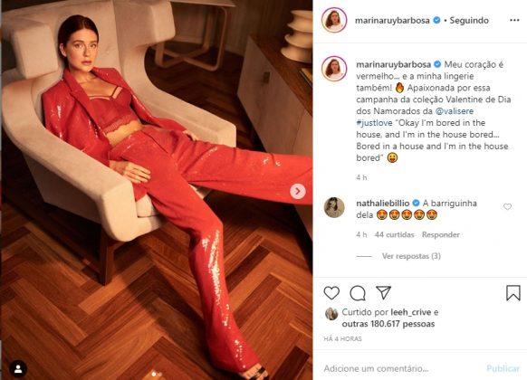 Marina Ruy Barbosa reprodução Instagram
