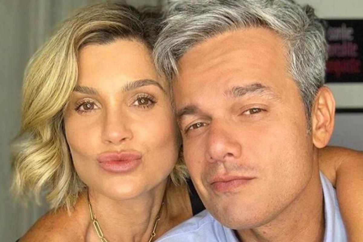 O apresentador Otaviano Costa e sua esposa, Flávia Alessandra - Reprodução: Instagram