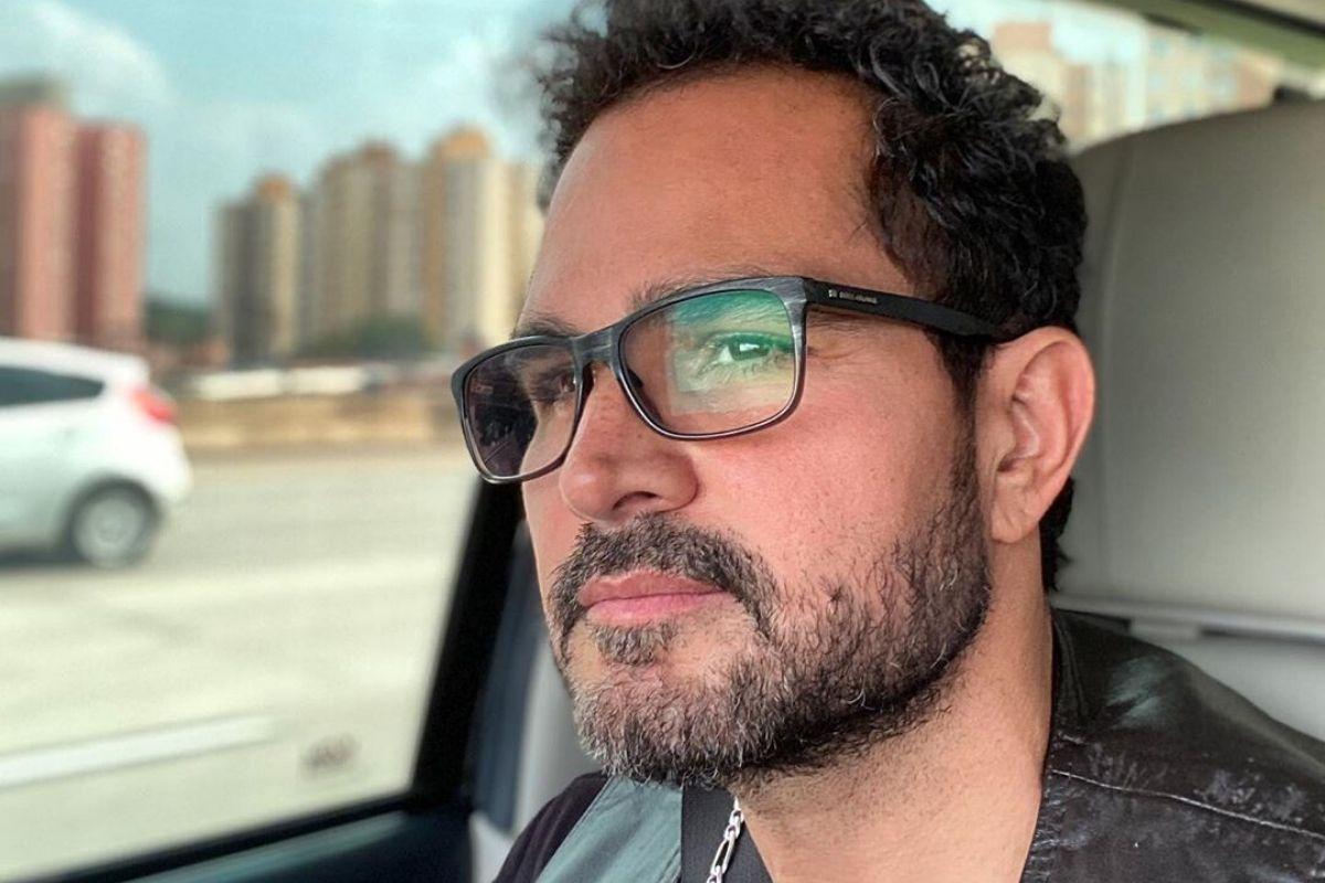 O cantor sertanejo Luciano Camargo