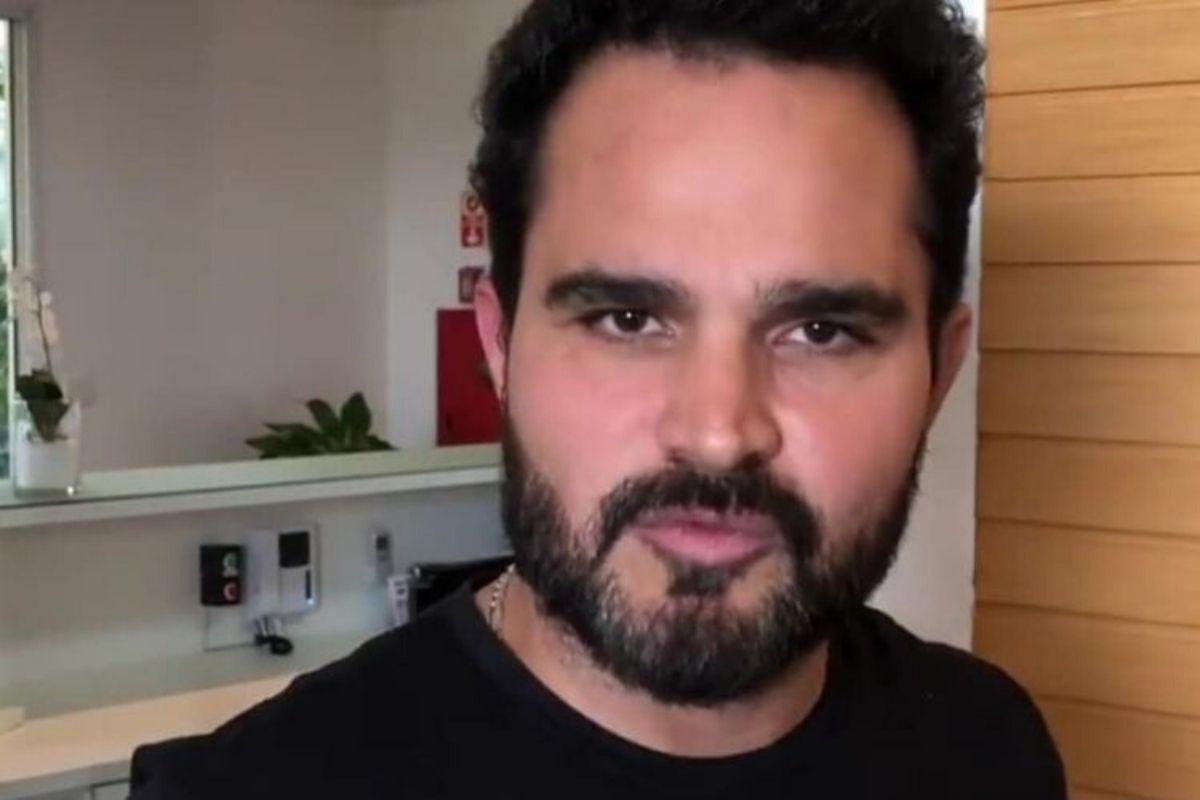 O cantor sertanejo Luciano Camargo - Reprodução: Instagram