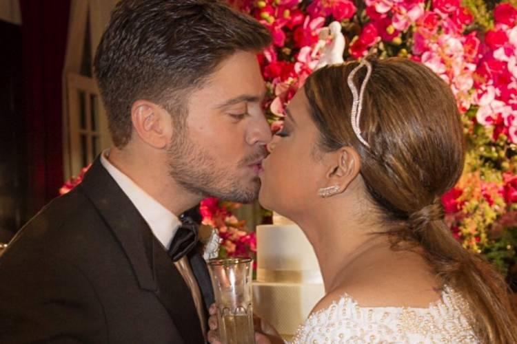 """Rodrigo Godoy celebra cinco anos de casado com Preta Gil: """"Te amo"""""""