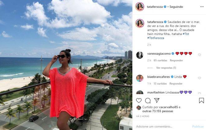 Thais Fersoza reprodução Instagram