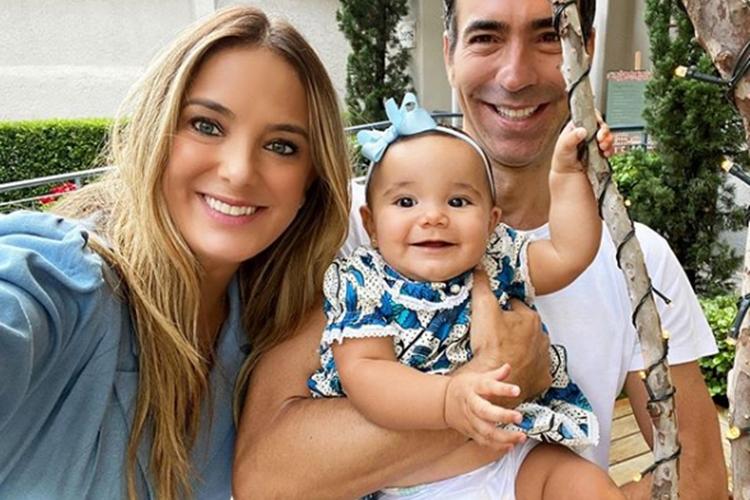 Ticiane Pinheiro encanta seguidores com vídeo para comemorar aniversário da caçula