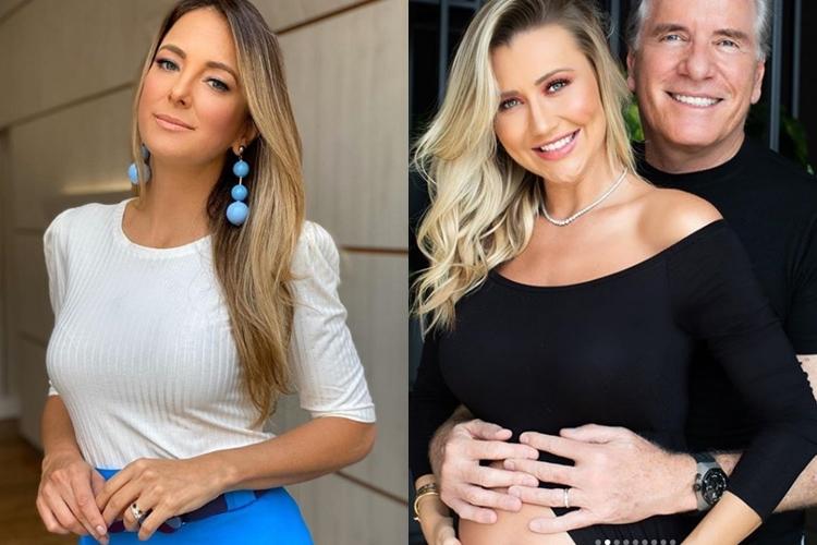 Ticiane Pinheiro se mostra feliz com a proximidade do nascimento do bebê de Roberto Justus e Ana Paula Siebert