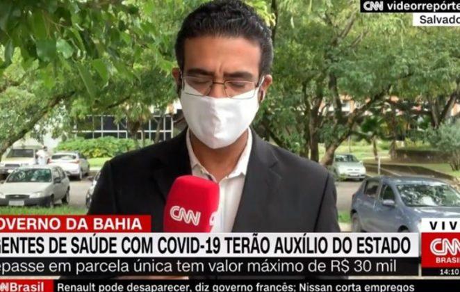 Jornalista recebe telefonema misterioso ao vivo e sai do ar