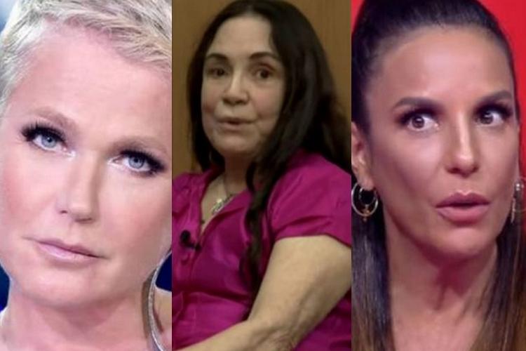 Xuxa cobra posicionamento de Ivete Sangalo sobre polêmica envolvendo Regina Duarte