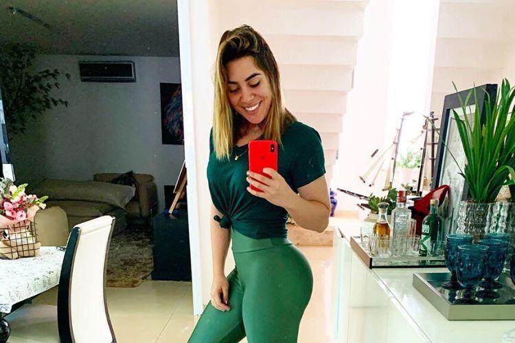 Sertaneja Naiara Azevedo revela melhora em sua saúde nesta quarentena