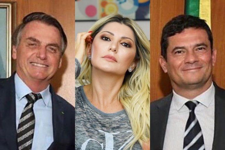 Antonia Fontenelle afirma que Sergio Moro deu um 'tiro na testa' e defende Bolsonaro