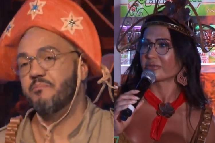 """Gracyanne Barbosa desperta ciumeira de Belo durante live: """"Não brinca com coisa séria"""""""