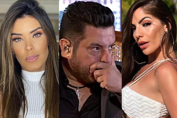Ex-BBBs Ivy Moraes e Anamara se envolvem em polêmica após flagra na festa do sertanejo Bruno