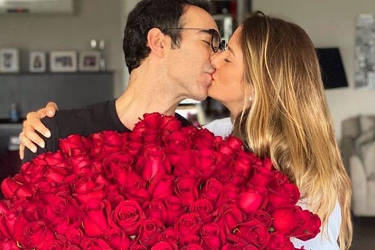 César Tralli presta bela homenagem a esposa Ticiane Pinheiro, que está aniversariando