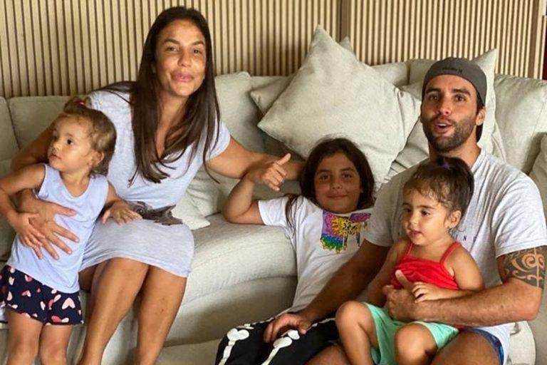 """Marido de Ivete Sangalo celebra aniversário com a família: """"Melhor presente"""""""