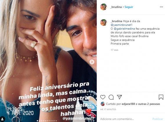 Gabriel Medina reprodução Instagram