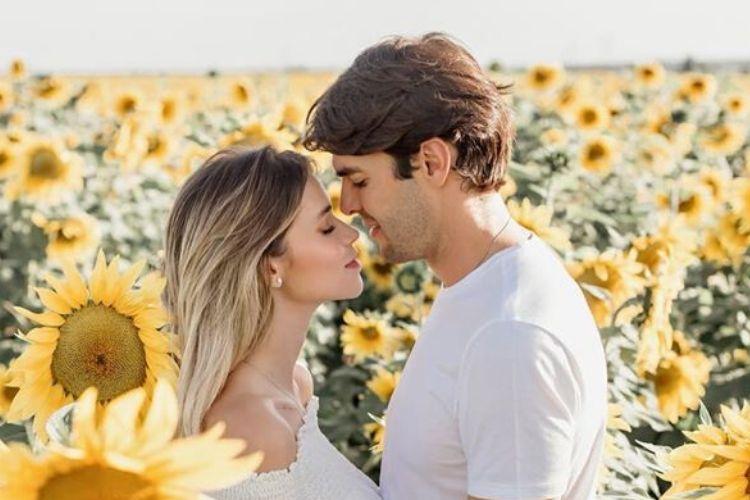 Kaká e a esposa Carol Dias - Reprodução: Instagram