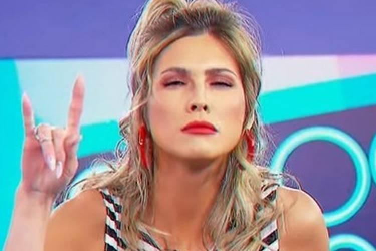 Lívia Andrade, apresentadora do extinto 'Fofocalizando' - Reprodução/SBT