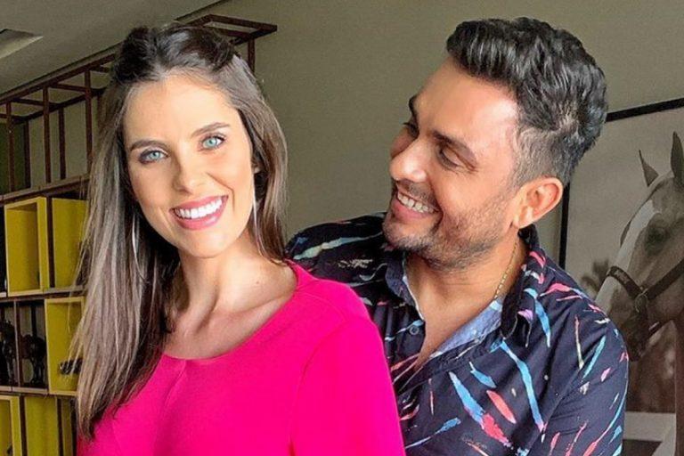 Mulher de Mano Walter faz revelações íntimas sobre gravidez e relacionamento