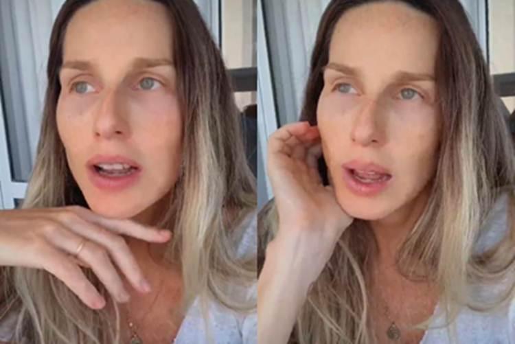 Na reta final da gravidez, Mariana Weickert testa positivo para a Covid-19