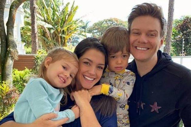 Michel Teló e Thais Fersoza curtem momento em família na quarentena - Foto: Reprodução/Instagram@tatafersoza