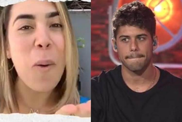 Naiara Azevedo pede música na live de Zé Felipe