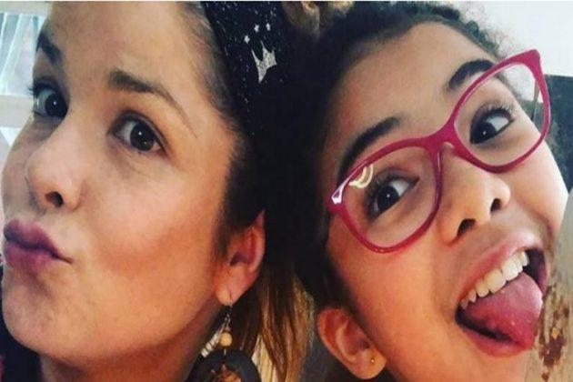 Samara Felippo e Alícia reprodução instagram