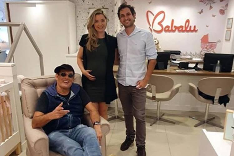 Sérgio Mallandro será avô pela primeira vez, aos 64 anos