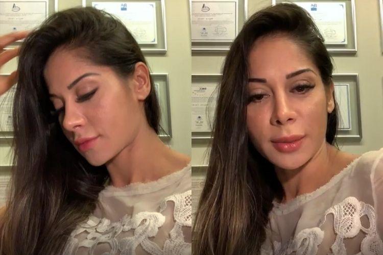 Mayra Cardi revela que polêmica em sua vida pessoal a vem prejudicando em recuperação de cirurgia