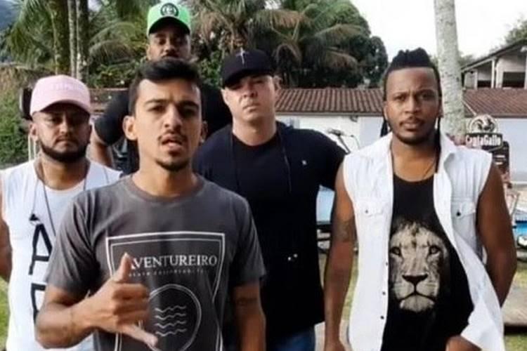 Vocalista da banda de pagode 'Aglomerou' quebra o silêncio sobre tiroteio durante live