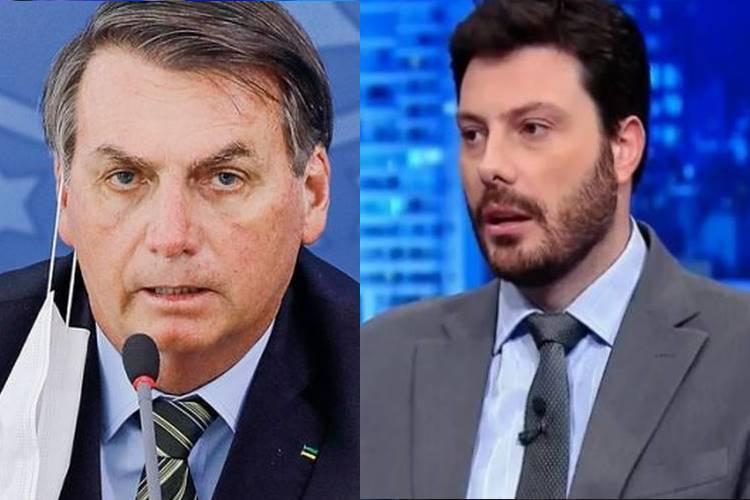 Jair Bolsonaro desmente acusação de Danilo Gentili sobre demissão do SBT