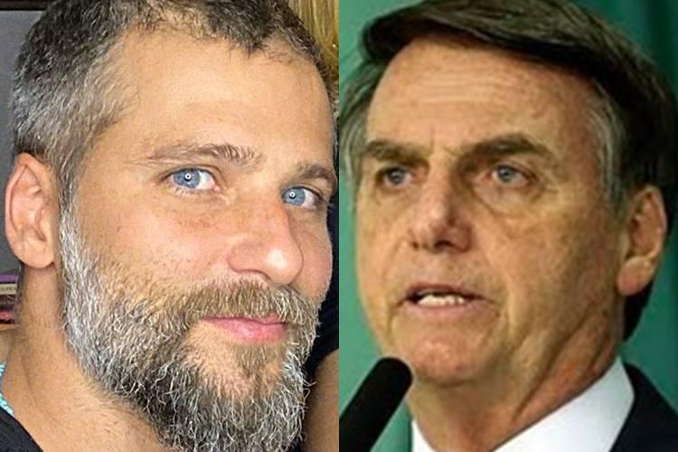 Gagliasso faz piada com foto de Bolsonaro mostrando cloroquina para uma ema
