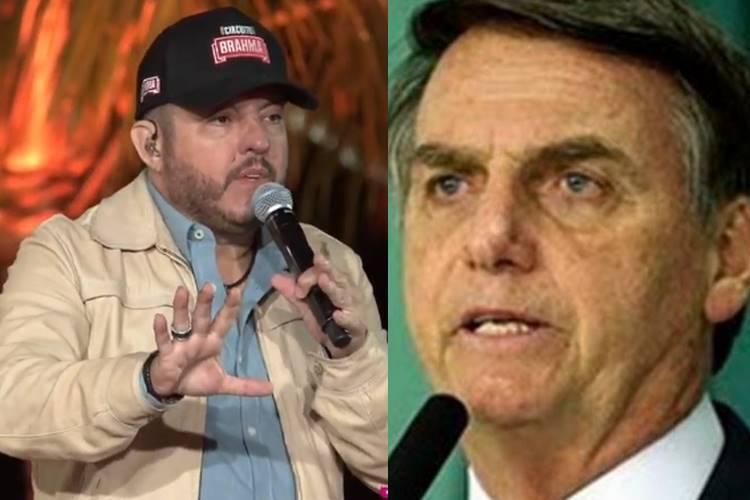 """Sertanejo Bruno defende Jair Bolsonaro de acusações durante live: """"Ele é honesto"""""""