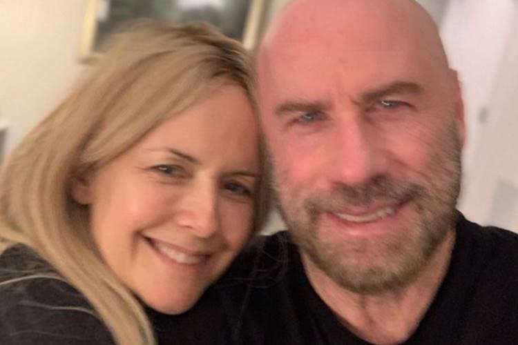 Kelly Preston e John Travolta/Instagram